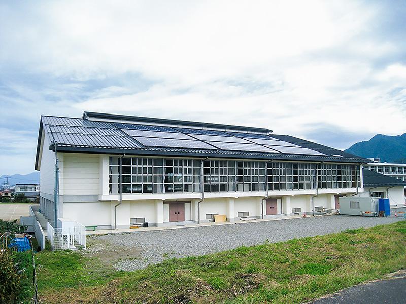墨坂中学校 体育館
