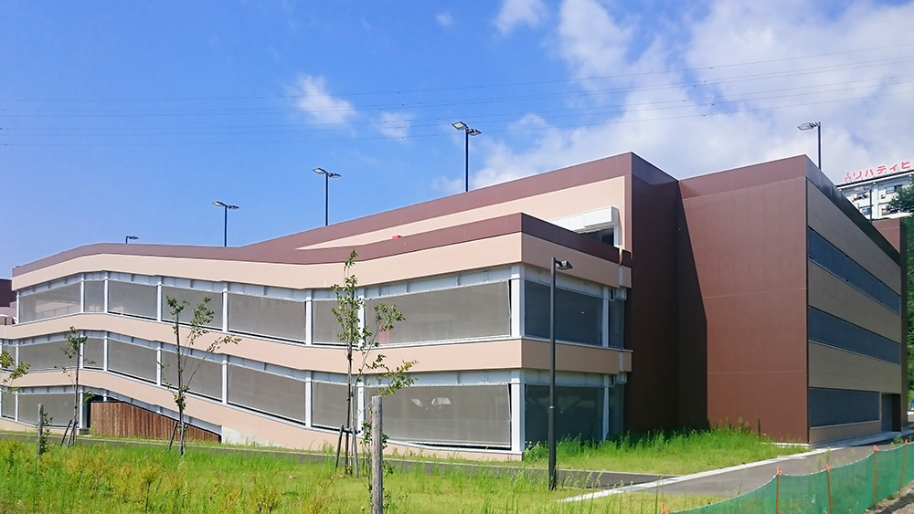 飯山駅斑尾口駐車場