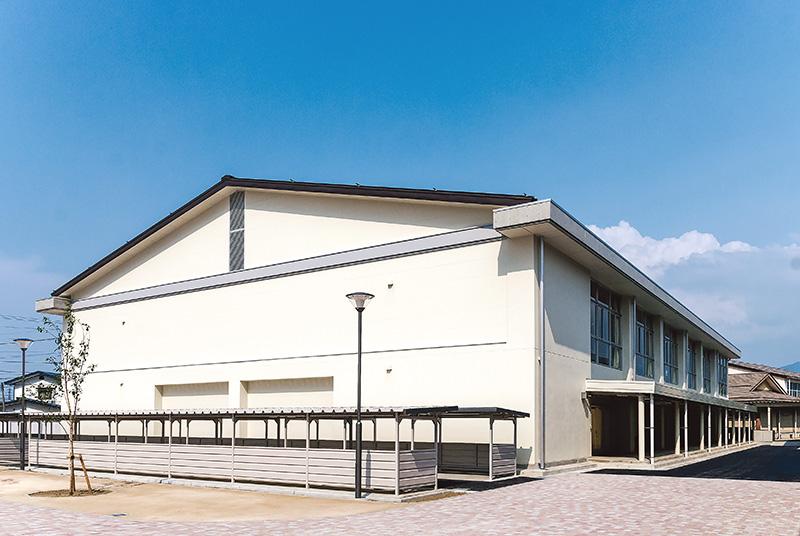 篠ノ井東中学校 体育館